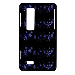 Xmas elegant blue snowflakes LG Optimus Thrill 4G P925