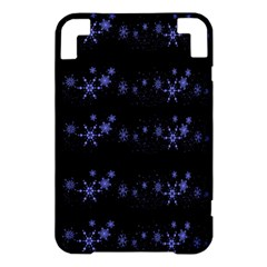 Xmas elegant blue snowflakes Kindle 3 Keyboard 3G