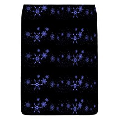 Xmas elegant blue snowflakes Flap Covers (S)