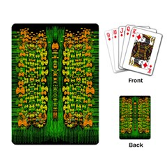 Magical Forest Of Freedom And Hope Playing Card