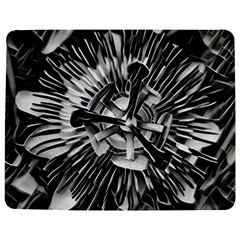 Black And White Passion Flower Passiflora  Jigsaw Puzzle Photo Stand (rectangular)