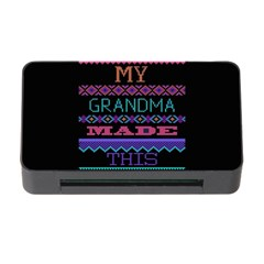My Grandma Made This Ugly Holiday Black Background Memory Card Reader with CF