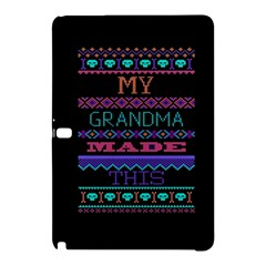 My Grandma Made This Ugly Holiday Black Background Samsung Galaxy Tab Pro 10 1 Hardshell Case