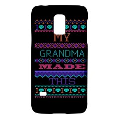 My Grandma Made This Ugly Holiday Black Background Galaxy S5 Mini