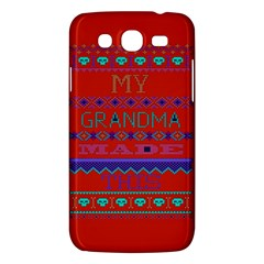 My Grandma Made This Ugly Holiday Red Background Samsung Galaxy Mega 5 8 I9152 Hardshell Case