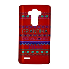 My Grandma Made This Ugly Holiday Red Background Lg G4 Hardshell Case