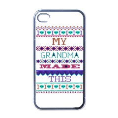 My Grandma Made This Ugly Holiday Apple Iphone 4 Case (black)