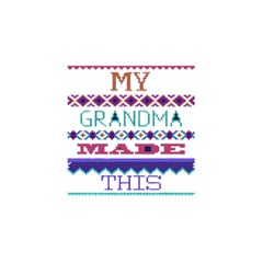 My Grandma Made This Ugly Holiday You Are Invited 3d Greeting Card (8x4)