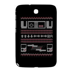 Old School Ugly Holiday Christmas Black Background Samsung Galaxy Note 8.0 N5100 Hardshell Case