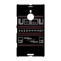 Old School Ugly Holiday Christmas Black Background Nokia Lumia 1520