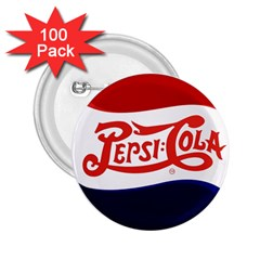 Pepsi Cola 2 25  Buttons (100 Pack)