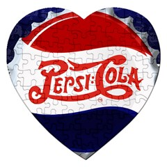 Pepsi Cola Jigsaw Puzzle (heart)
