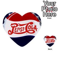 Pepsi Cola Multi Purpose Cards (heart)