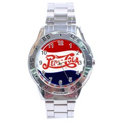 Pepsi Cola Stainless Steel Analogue Watch