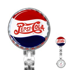 Pepsi Cola Stainless Steel Nurses Watch