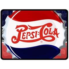 Pepsi Cola Double Sided Fleece Blanket (large)