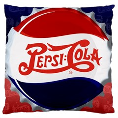 Pepsi Cola Standard Flano Cushion Case (Two Sides)