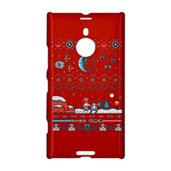 That Snow Moon Star Wars  Ugly Holiday Christmas Red Background Nokia Lumia 1520