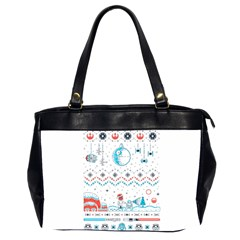 That Snow Moon Star Wars  Ugly Holiday Christmas Office Handbags (2 Sides)