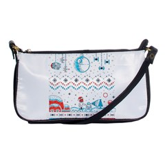 That Snow Moon Star Wars  Ugly Holiday Christmas Shoulder Clutch Bags