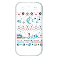 That Snow Moon Star Wars  Ugly Holiday Christmas Samsung Galaxy S3 S Iii Classic Hardshell Back Case