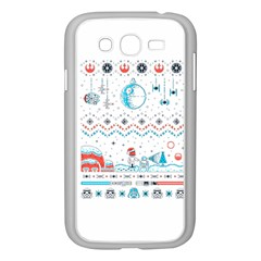 That Snow Moon Star Wars  Ugly Holiday Christmas Samsung Galaxy Grand Duos I9082 Case (white)