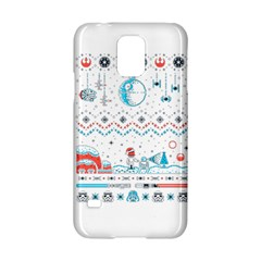 That Snow Moon Star Wars  Ugly Holiday Christmas Samsung Galaxy S5 Hardshell Case