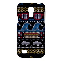 Ugly Summer Ugly Holiday Christmas Black Background Galaxy S4 Mini
