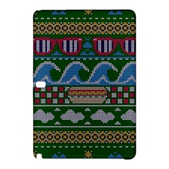 Ugly Summer Ugly Holiday Christmas Green Background Samsung Galaxy Tab Pro 10 1 Hardshell Case