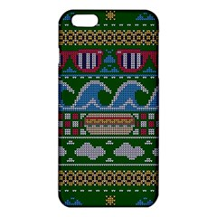 Ugly Summer Ugly Holiday Christmas Green Background Iphone 6 Plus/6s Plus Tpu Case