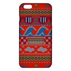 Ugly Summer Ugly Holiday Christmas Red Background Iphone 6 Plus/6s Plus Tpu Case