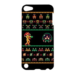 We Wish You A Metroid Christmas Ugly Holiday Christmas Black Background Apple iPod Touch 5 Hardshell Case