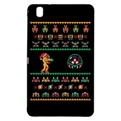 We Wish You A Metroid Christmas Ugly Holiday Christmas Black Background Samsung Galaxy Tab Pro 8 4 Hardshell Case