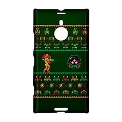 We Wish You A Metroid Christmas Ugly Holiday Christmas Green Background Nokia Lumia 1520