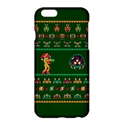 We Wish You A Metroid Christmas Ugly Holiday Christmas Green Background Apple Iphone 6 Plus/6s Plus Hardshell Case