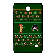 We Wish You A Metroid Christmas Ugly Holiday Christmas Green Background Samsung Galaxy Tab 4 (8 ) Hardshell Case