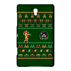 We Wish You A Metroid Christmas Ugly Holiday Christmas Green Background Samsung Galaxy Tab S (8 4 ) Hardshell Case