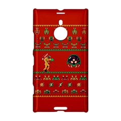 We Wish You A Metroid Christmas Ugly Holiday Christmas Red Background Nokia Lumia 1520