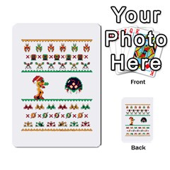 We Wish You A Metroid Christmas Ugly Holiday Christmas Multi-purpose Cards (Rectangle)