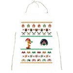 We Wish You A Metroid Christmas Ugly Holiday Christmas Full Print Aprons Front