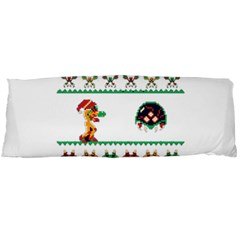 We Wish You A Metroid Christmas Ugly Holiday Christmas Body Pillow Case (dakimakura)