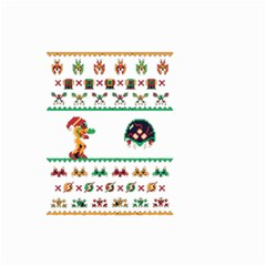 We Wish You A Metroid Christmas Ugly Holiday Christmas Small Garden Flag (two Sides)
