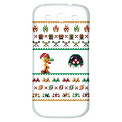 We Wish You A Metroid Christmas Ugly Holiday Christmas Samsung Galaxy S3 S Iii Classic Hardshell Back Case