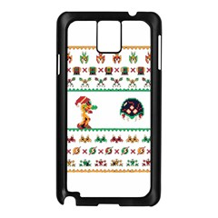 We Wish You A Metroid Christmas Ugly Holiday Christmas Samsung Galaxy Note 3 N9005 Case (black)