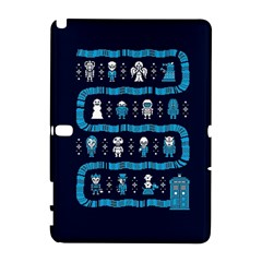 Who Is Outside Ugly Holiday Christmas Blue Background Samsung Galaxy Note 10 1 (p600) Hardshell Case