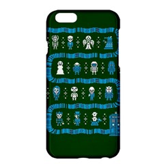 Who Is Outside Ugly Holiday Christmas Green Background Apple Iphone 6 Plus/6s Plus Hardshell Case
