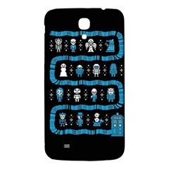 Who Is Outside Ugly Holiday Christmas Black Background Samsung Galaxy Mega I9200 Hardshell Back Case
