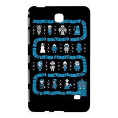 Who Is Outside Ugly Holiday Christmas Black Background Samsung Galaxy Tab 4 (8 ) Hardshell Case