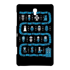 Who Is Outside Ugly Holiday Christmas Black Background Samsung Galaxy Tab S (8 4 ) Hardshell Case