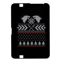 Winter Is Coming Game Of Thrones Ugly Christmas Black Background Kindle Fire HD 8.9